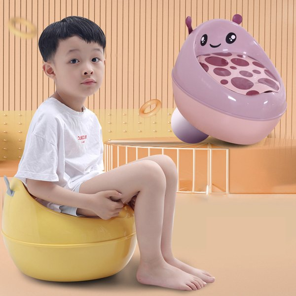 best selling Travel Potty Portable Children's Potty Baby Mobile Toilet Toddler Urinal Child Toilet Training Seat Bedpan for 1-6 Years Old LJ201110