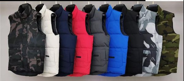best selling Fashion Brand Mens Winter Vest Luxury Classic Down Vest Designer Parka Coats Thick Jacket Solid Zipper Sleeveless Top Quality 20091201T