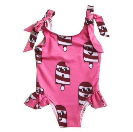 Розовые слинг купальники