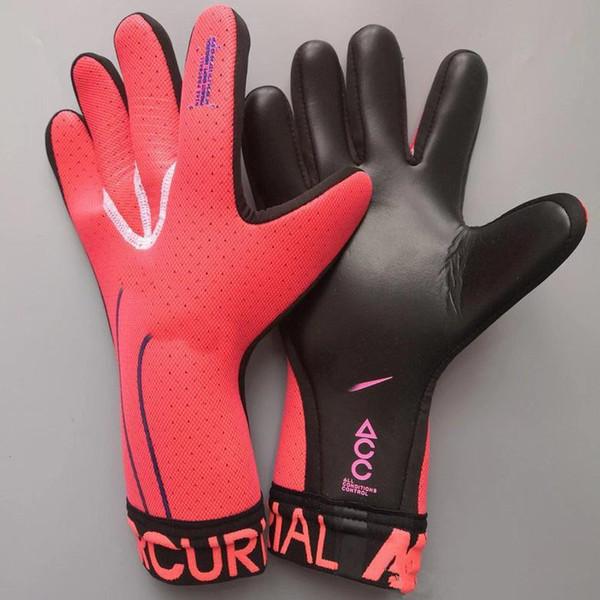 top popular Size 8 9 10 adult brand Goalkeeper Gloves Mercurial Touch Elite Latex Soccer Goalie Luvas Guantes 2021
