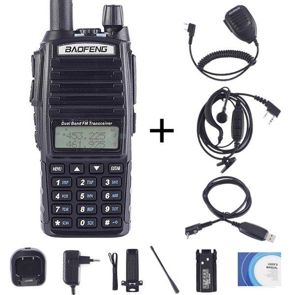 China UV82-Cable-Earp-Mic