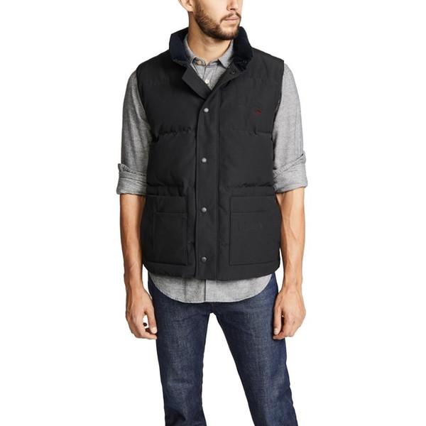 best selling 2020 Winter Jacket Men Down Vest Homme Vest Gilet Down Vest Down jacket Jassen Expedition Parka Outerwear Doudoune Vestes De Designer