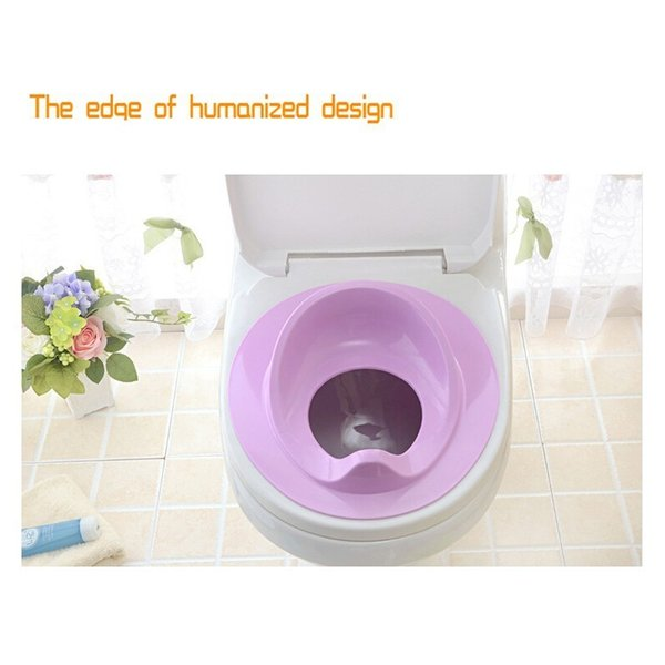 top popular Children Baby Plastic Toilet Potties Baby Potty Safe Seat for Grils Boy Trainers Comfortable Portable Toilet Ring Infant Potty LJ201110 2021