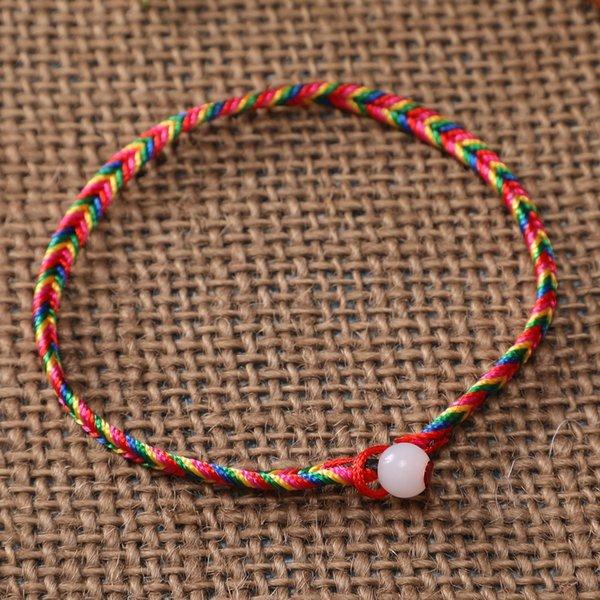 4мм красный плоский провод одного шарика Красочная R