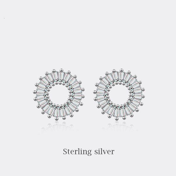 ED096-Aguja de plata pura