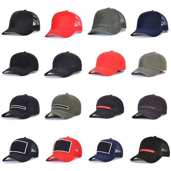top popular baseball cap fashion mens hats summer fitted hat cap for women men s baseball trucker caps snapback M9QXA 2021