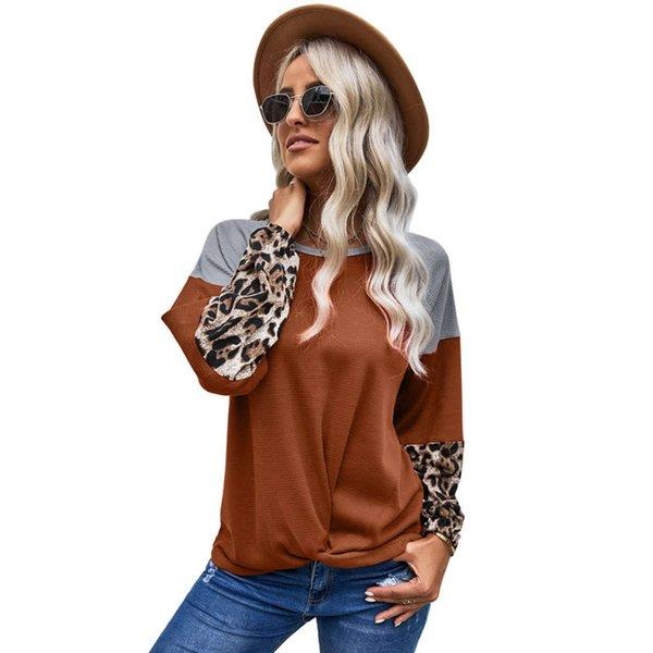 Arancione con stampa leopardo
