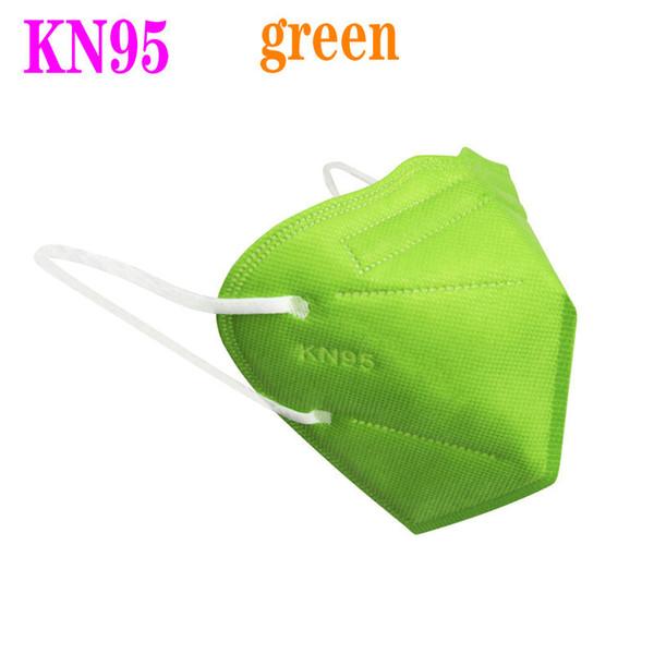 KN95 vert sans vanne