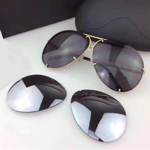 Gold Black Lens
