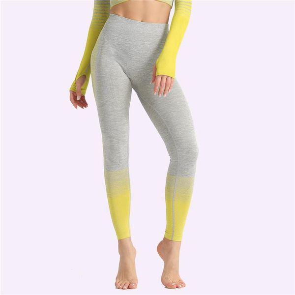 calças 1pc amarelas