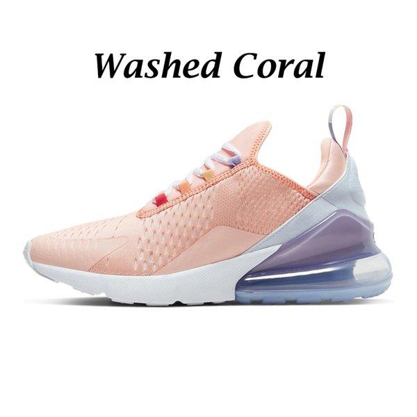 Koralle gewaschen