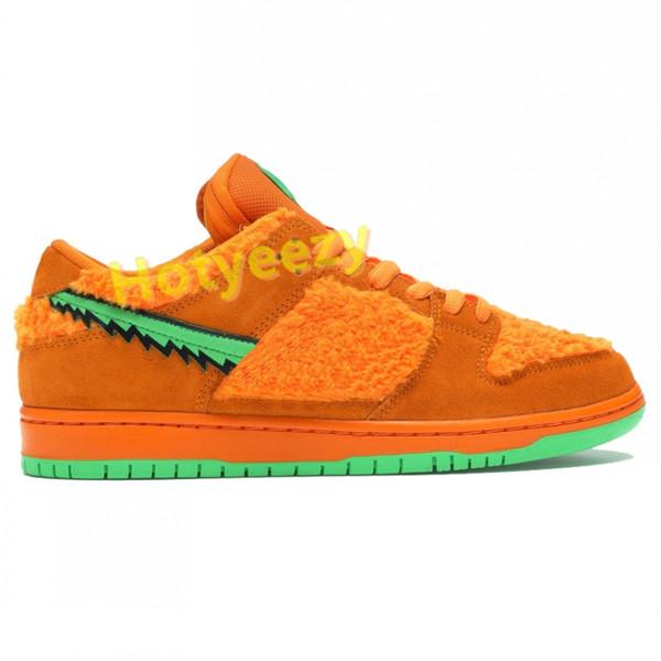 7.orange bear