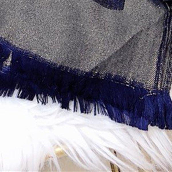 NO1-Lacivert Mavi Altın Tel