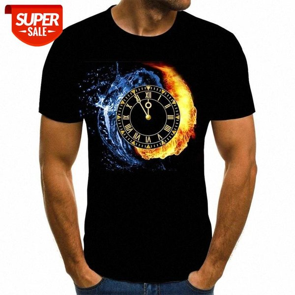 best selling Camiseta con estampado de verano 3D de geometría en espiral, última novedad, camiseta manga corta con cuello redondo vario #627I