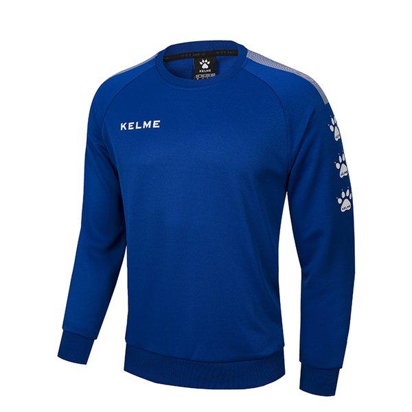 Asiatische Größe XL-Deep Blue Pullover