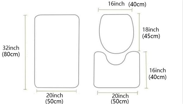 3pcs Mat Set10