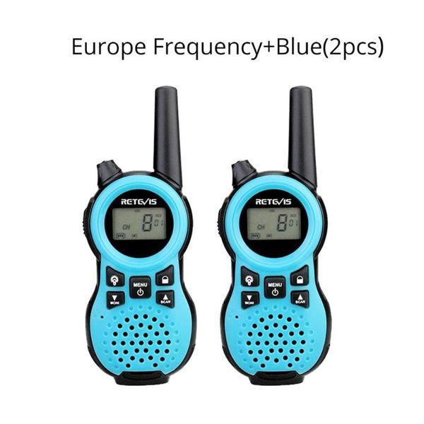 China Blue EU Frequenz