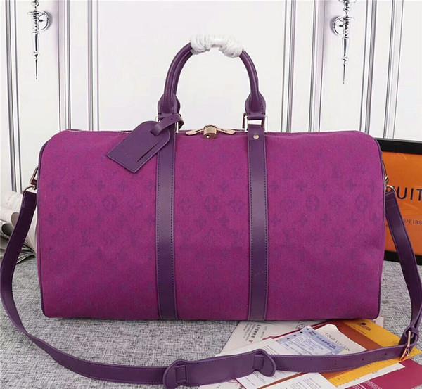 Пурпурная красная холст сумка