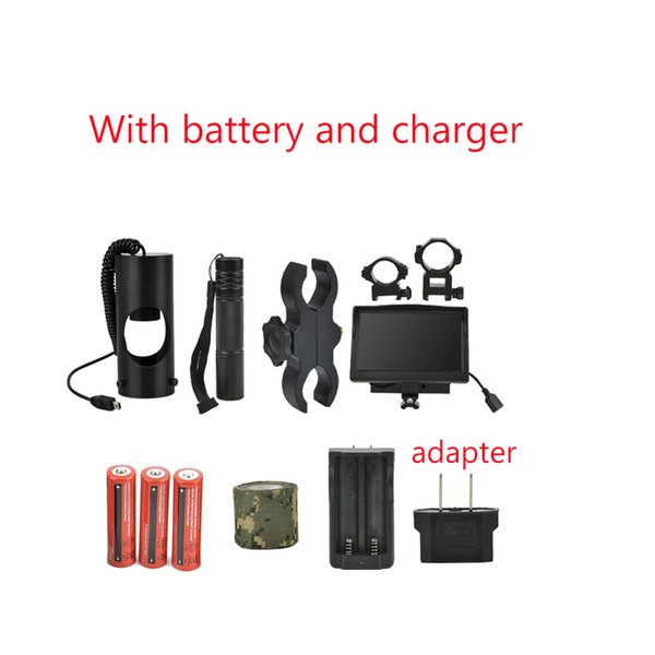 With battery