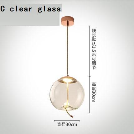 C vidro claro