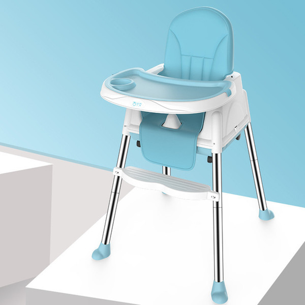 best selling Folding Dinner Chair for baby portable baby seat Baby dinner table multifunction adjustable chairs for children LJ201110