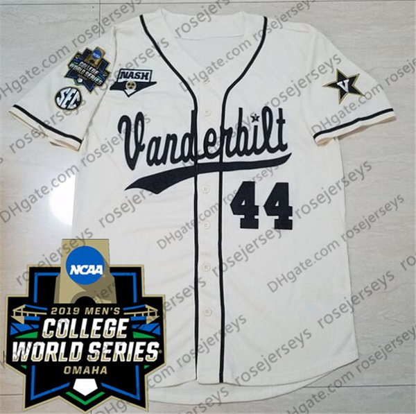 Cream with 2019 CWS Patch
