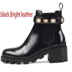 cuoio nero brillante +