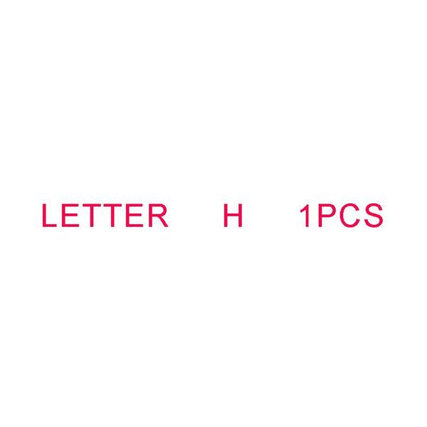 Letra H 1PCS