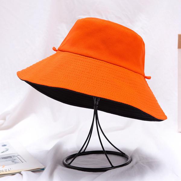Reversible Orange Black