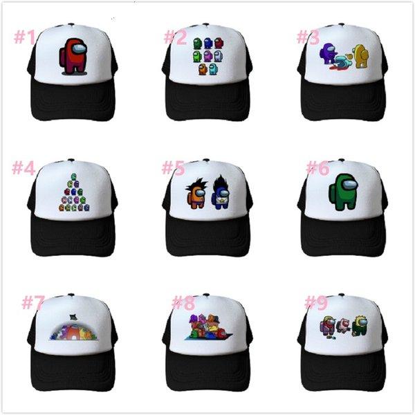 best selling 16styles Among us Summer Caps Baseball Cap For Men Baseball Cap Hats Women Men kids child
