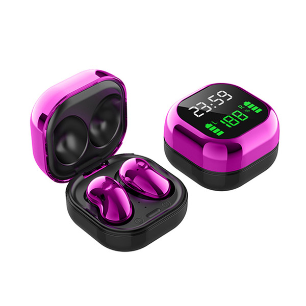 S6 Plus TWS Wireless earbuds Comfortable Mini Button Bluetooth Earphones Headphones HiFi Sound Binaural Call Earpieces 9D Sport Headset