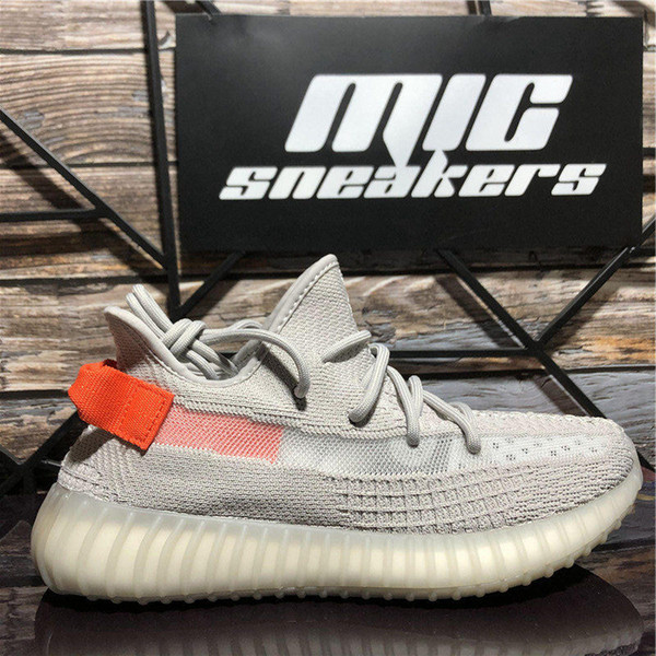best selling Top Quality Fade Tail Light Cinder 3M Static Reflective Kanye West Sport Shoes Black Red Zebra Zyon Yecheil Eliada Men Women Running Shoes