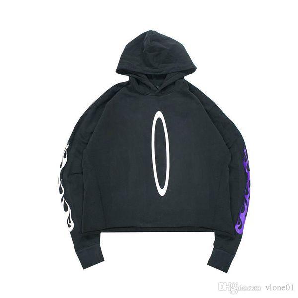 best selling 19ss Hoodie Hip Hop Hoodie High Quality Black Mens Stylist Hoodies Men Women Sweatshirts Size S-XL