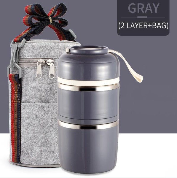 2 Capa gris bolsa