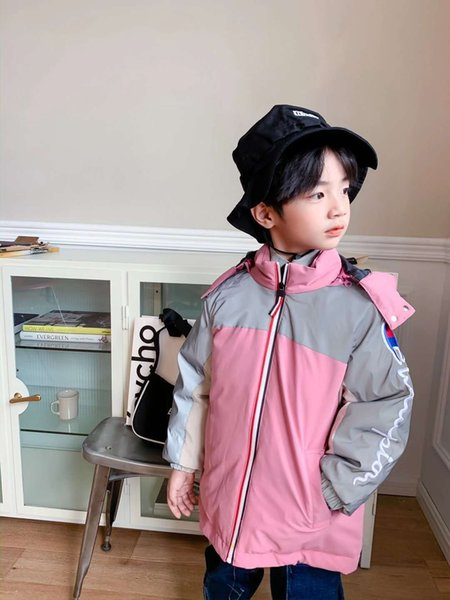 Champion Reflective Down Jacket (pink)
