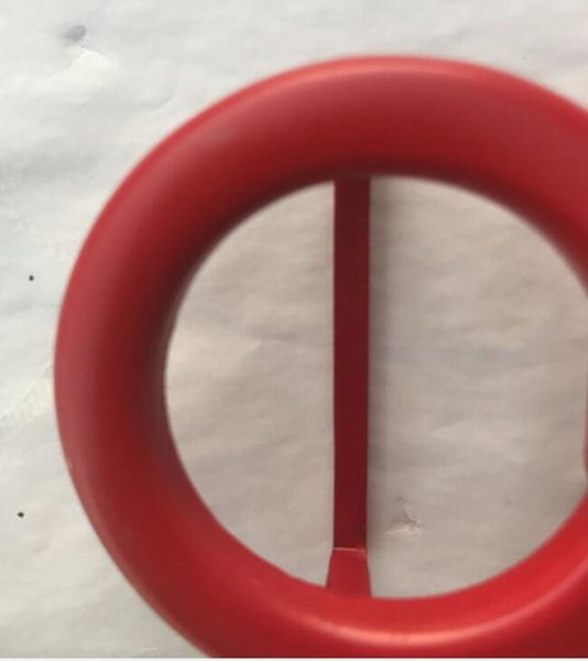 Красная пряжка