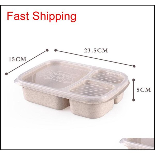 best selling New Natural Material Lunch Bento Box Food Heated Thermos Container For Children Adults Kid Kitc qyleIV bdetoys