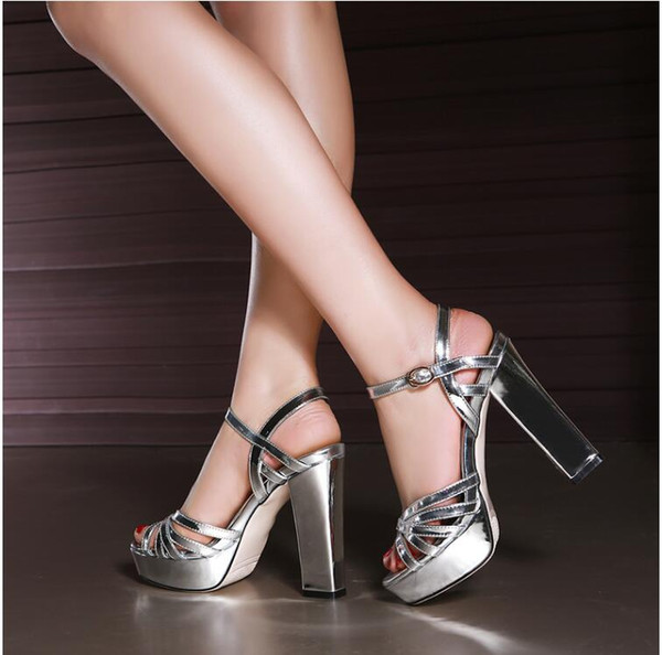 as #1 silver 13cm heel