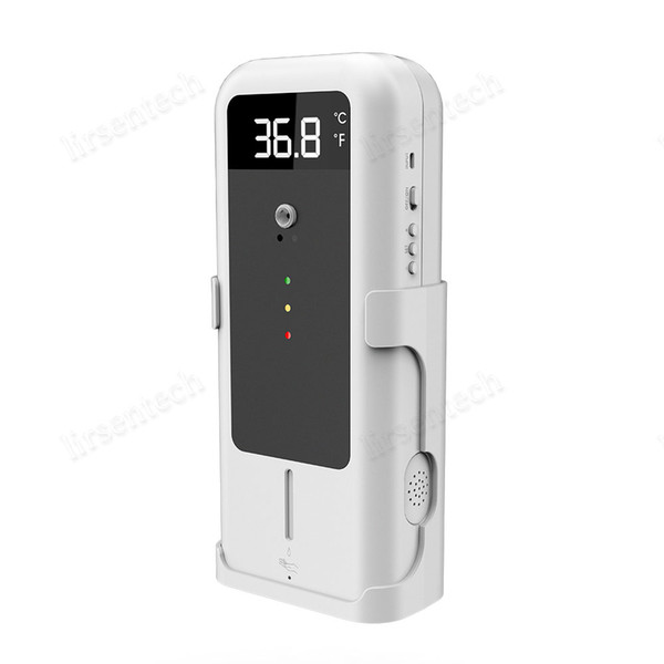 best selling hands washing machine touchless automatic sensor liquid soap dispenser auto temperature measure thermometer hands sterilizer with tripod