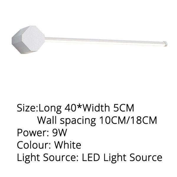 Blanco 40x5cm blanco cálido