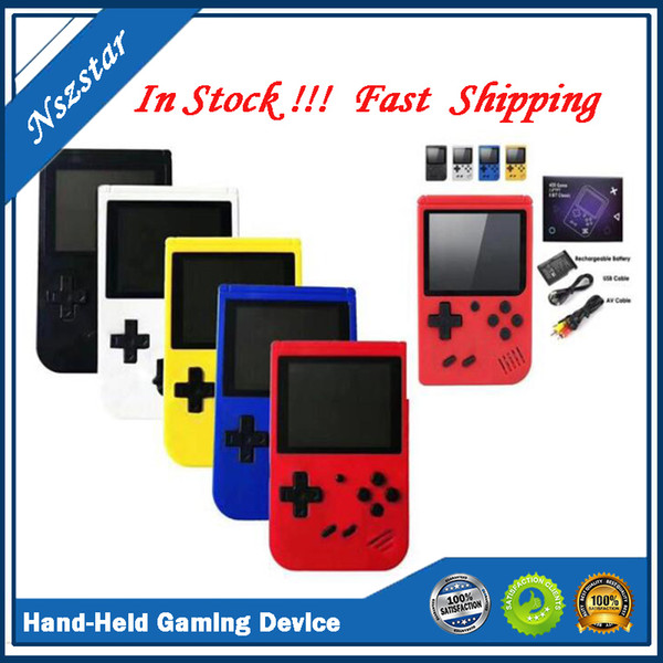 top popular Hand-Held Gaming Device Video Game Player Mini Game Console Children Smart handheld gaming Gaming Device Retro Nostalgia Accessories 2021