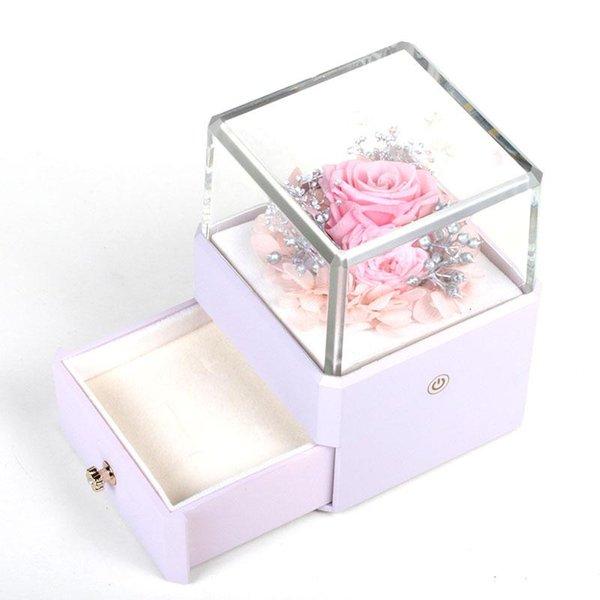Lila Box rosaer Fluss