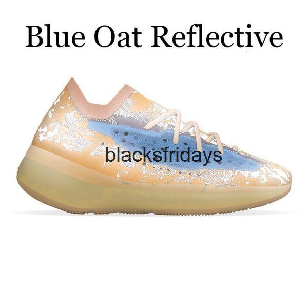 Ageno azul reflexivo