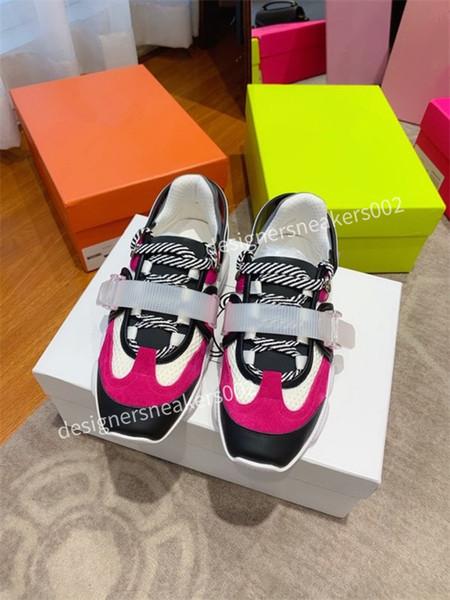 2021top Woman Trainer Black Walking Sneakers Men Women Black Red Casual Shoes Fashion Paris Sneakers zd201123