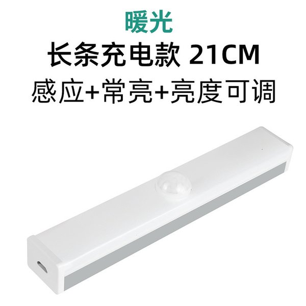21cm (인덕터로) 충전 따뜻한 조명 스트립