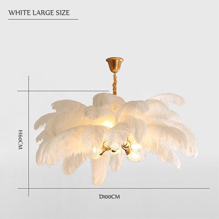 white large size