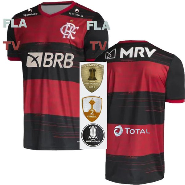 2020 Home + Sponsors + Patchs Libertadores