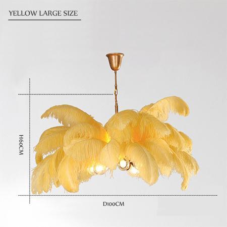 yellow large size