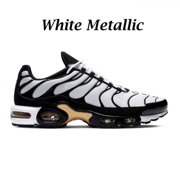 Blanc métallisé