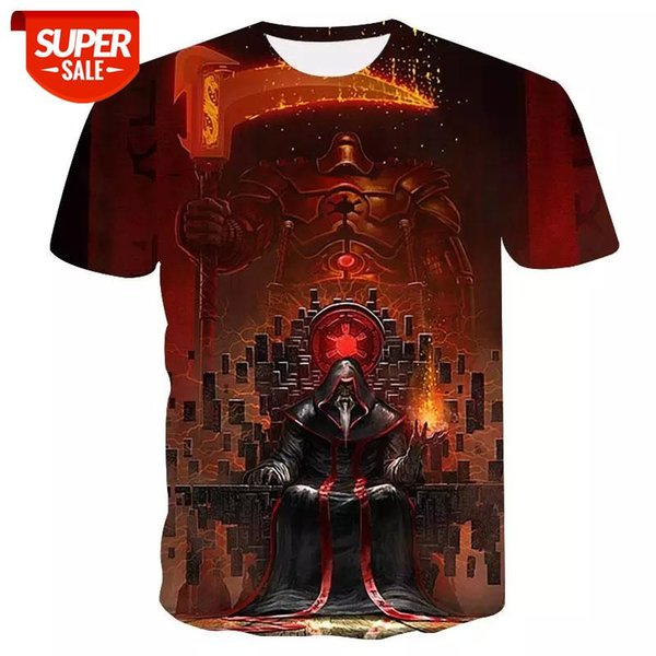top popular High quality short sleeve casual t-shirt Summer street fashion  quick-drying T-shirt 2020 New 3D skull cool men's t-shirt #5k7F 2021